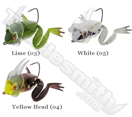 River2Sea Dahlberg Diver Frog Color Chart
