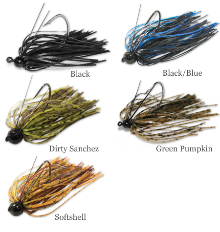 Eco Pro Gnat Tungsten Jig Color Chart